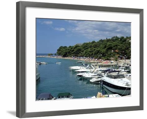 Brela, Makarska Riviera, Croatia-Peter Thompson-Framed Art Print