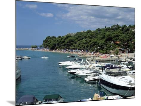 Brela, Makarska Riviera, Croatia-Peter Thompson-Mounted Photographic Print