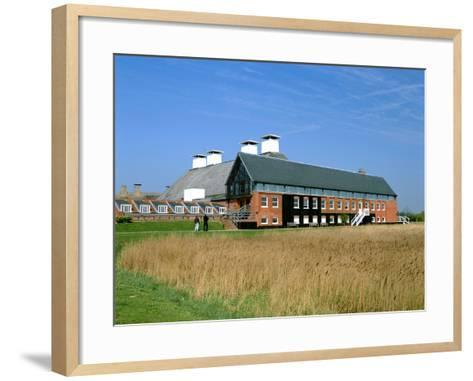 The Maltings, Snape, Suffolk-Peter Thompson-Framed Art Print