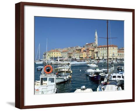 Rovinj Harbour, Croatia-Peter Thompson-Framed Art Print