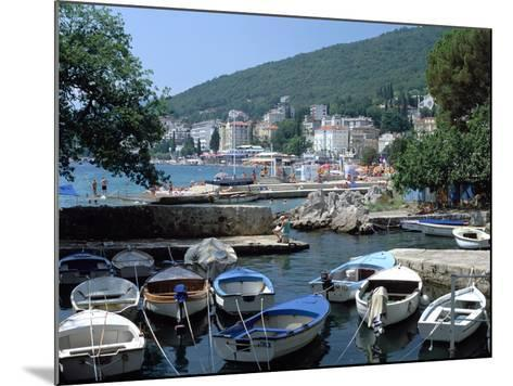 Harbour, Opatija, Croatia-Peter Thompson-Mounted Photographic Print
