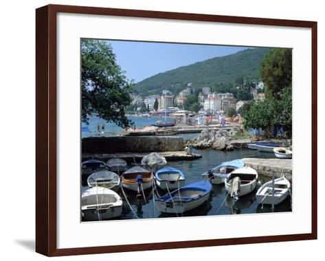 Harbour, Opatija, Croatia-Peter Thompson-Framed Art Print