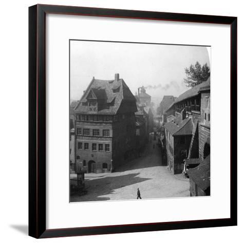 Albrecht Durer's House, Nuremberg, Germany, C1900-Wurthle & Sons-Framed Art Print