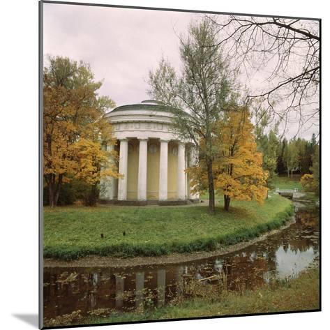 Pavlovsk. the Temple of Friendship, 1780-1783-Charles Cameron-Mounted Photographic Print