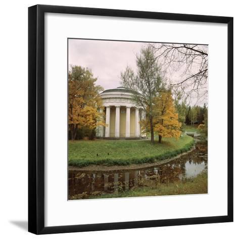 Pavlovsk. the Temple of Friendship, 1780-1783-Charles Cameron-Framed Art Print