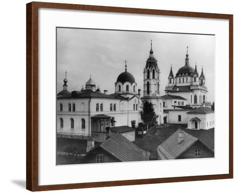Monastery of the Immaculate Conception, Moscow, Russia, 1881- Scherer Nabholz & Co-Framed Art Print