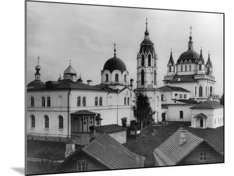 Monastery of the Immaculate Conception, Moscow, Russia, 1881- Scherer Nabholz & Co-Mounted Photographic Print
