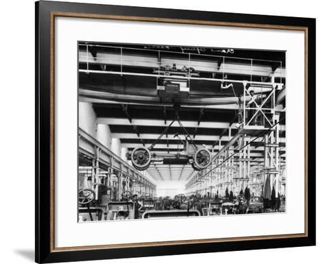 The Daimler Chassis Shop, C1911-C1914--Framed Art Print