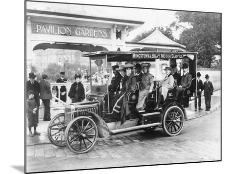 1906 Albion A3 12-Seater Charabanc, (C1906)--Mounted Photographic Print