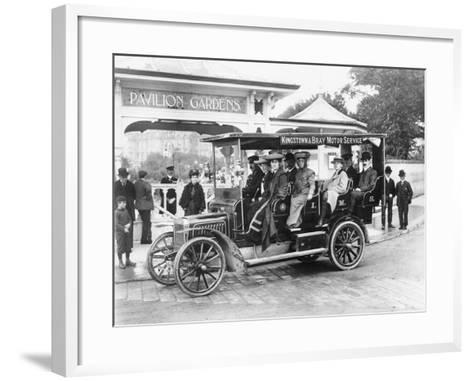 1906 Albion A3 12-Seater Charabanc, (C1906)--Framed Art Print