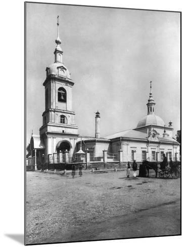 Church of the Forty Martyrs of Sebaste, Moscow, Russia, 1882- Scherer Nabholz & Co-Mounted Photographic Print