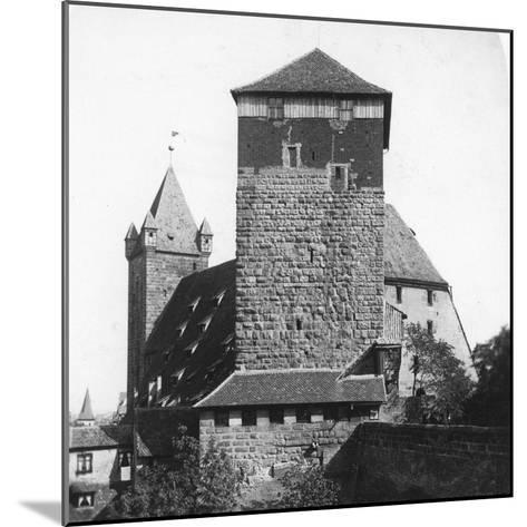 The Quintagonal Tower (Funfeckiger Thur), Kaiserstallung, Nuremberg, Germany, C1900s-Wurthle & Sons-Mounted Photographic Print