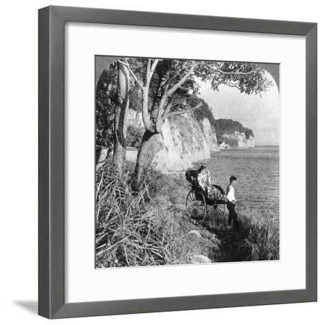 Looking East over 'Mississippi Bay, Near Yokohama, Japan, 1904-Underwood & Underwood-Framed Art Print