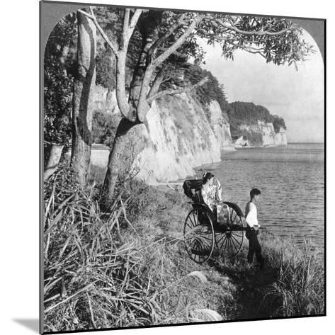 Looking East over 'Mississippi Bay, Near Yokohama, Japan, 1904-Underwood & Underwood-Mounted Photographic Print