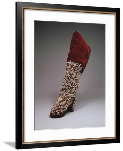 Lady Boot, Second Half of the 17th C--Framed Art Print