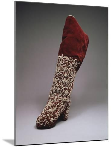 Lady Boot, Second Half of the 17th C--Mounted Photographic Print