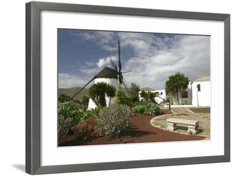 Windmill, Antigua, Fuerteventura, Canary Islands-Peter Thompson-Framed Art Print