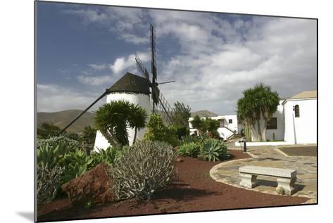 Windmill, Antigua, Fuerteventura, Canary Islands-Peter Thompson-Mounted Photographic Print