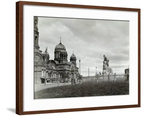 Lysva Station, Russia, 1900s--Framed Art Print