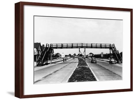 North Circular Road, London, C1938--Framed Art Print