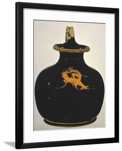 Oinochoe, Love-Making, Ca 430 Bc--Framed Art Print