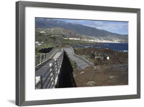 Santa Cruz De La Palma from Los Cancajos, La Palma, Canary Islands, Spain, 2009-Peter Thompson-Framed Art Print