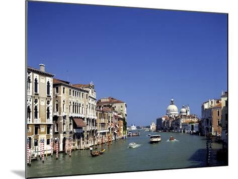 The Grand Canal and San Salute from Accademia Bridge, Venice, Italy-Peter Thompson-Mounted Photographic Print