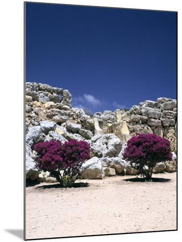 A Megalithic Temple Complex, Ggantija, Gozo, Malta, 20th Century-Peter Thompson-Mounted Photographic Print