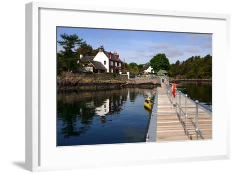 Plockton, Highland, Scotland-Peter Thompson-Framed Art Print