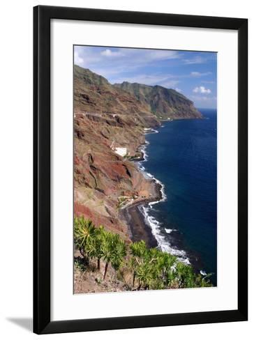 Anaga Coastline, San Andres, Tenerife, Canary Islands, 2007-Peter Thompson-Framed Art Print
