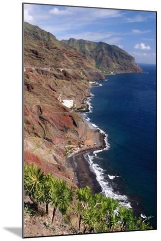 Anaga Coastline, San Andres, Tenerife, Canary Islands, 2007-Peter Thompson-Mounted Photographic Print