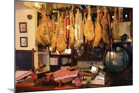 Hams for Sale, Casa De Miranda, Puerto De La Cruz, Tenerife, Canary Islands, 2007-Peter Thompson-Mounted Photographic Print