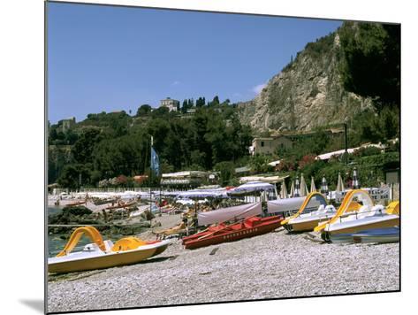Mendolia Beach, Taormina, Sicily, Italy-Peter Thompson-Mounted Photographic Print