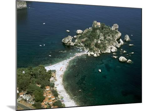 Isola Bella, Taormina, Sicily, Italy-Peter Thompson-Mounted Photographic Print