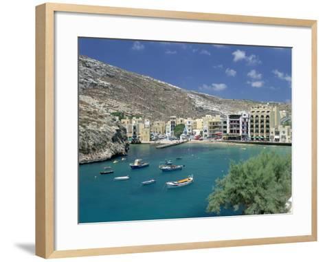 Xlendi, Gozo, Malta-Peter Thompson-Framed Art Print