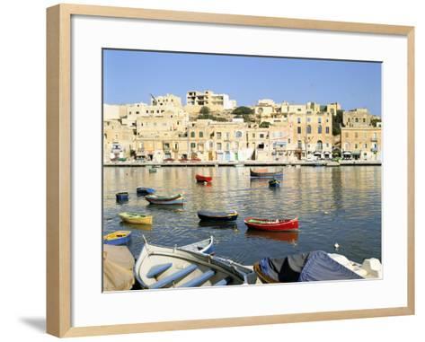 Harbour, Marsascala, Malta-Peter Thompson-Framed Art Print
