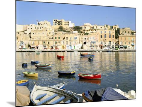 Harbour, Marsascala, Malta-Peter Thompson-Mounted Photographic Print