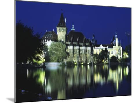 Vajdahunyad Castle in the City Park, Budapest, Hungary-Peter Thompson-Mounted Photographic Print