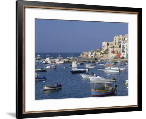 St Pauls Bay, Malta-Peter Thompson-Framed Art Print