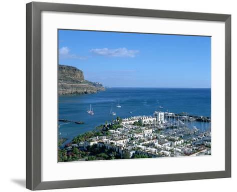 Puerto De Mogan, Gran Canaria, Canary Islands-Peter Thompson-Framed Art Print