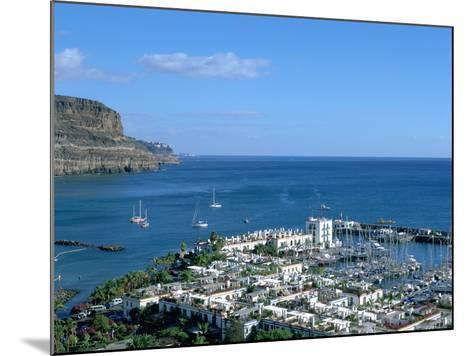Puerto De Mogan, Gran Canaria, Canary Islands-Peter Thompson-Mounted Photographic Print