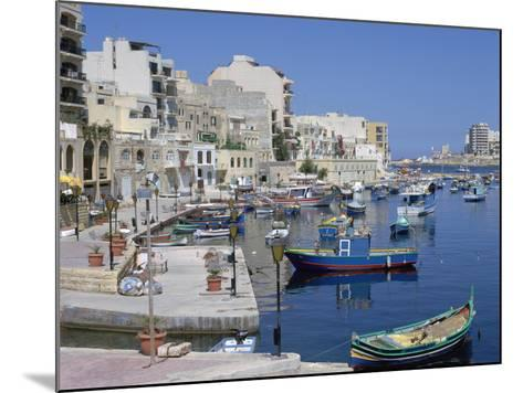 St Julians Bay, Malta-Peter Thompson-Mounted Photographic Print
