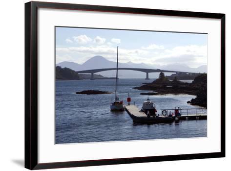 Skye Bridge, Highland, Scotland-Peter Thompson-Framed Art Print