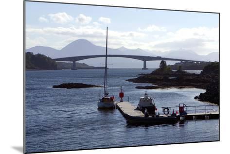 Skye Bridge, Highland, Scotland-Peter Thompson-Mounted Photographic Print