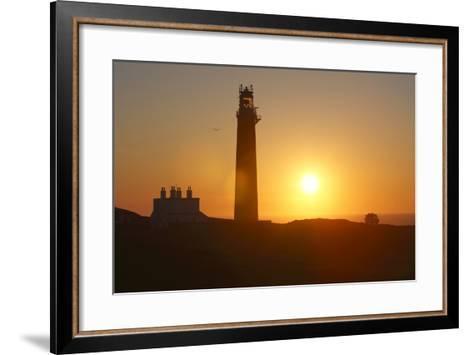 Lighthouse, Butt of Lewis, Lewis, Outer Hebrides, Scotland, 2009-Peter Thompson-Framed Art Print