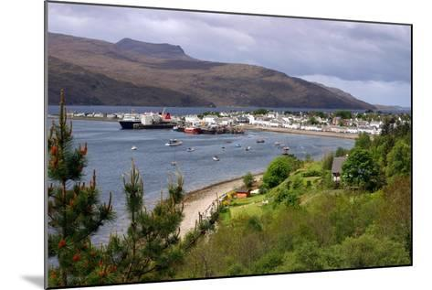 View of Ullapool Harbour, Highland, Scotland-Peter Thompson-Mounted Photographic Print
