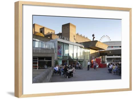 The Hayward Art Gallery, London, 2010-Peter Thompson-Framed Art Print