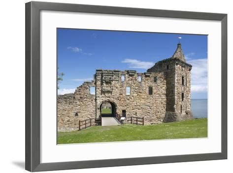 St Andrews Castle, Fife, Scotland, 2009-Peter Thompson-Framed Art Print