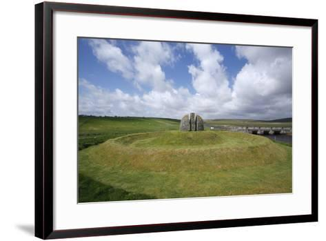 Memorial Cairn to the Grias and Coll Raiders, Isle of Lewis, Outer Hebrides, Scotland, 2009-Peter Thompson-Framed Art Print