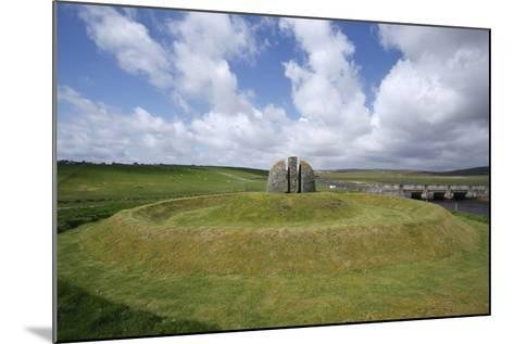 Memorial Cairn to the Grias and Coll Raiders, Isle of Lewis, Outer Hebrides, Scotland, 2009-Peter Thompson-Mounted Photographic Print